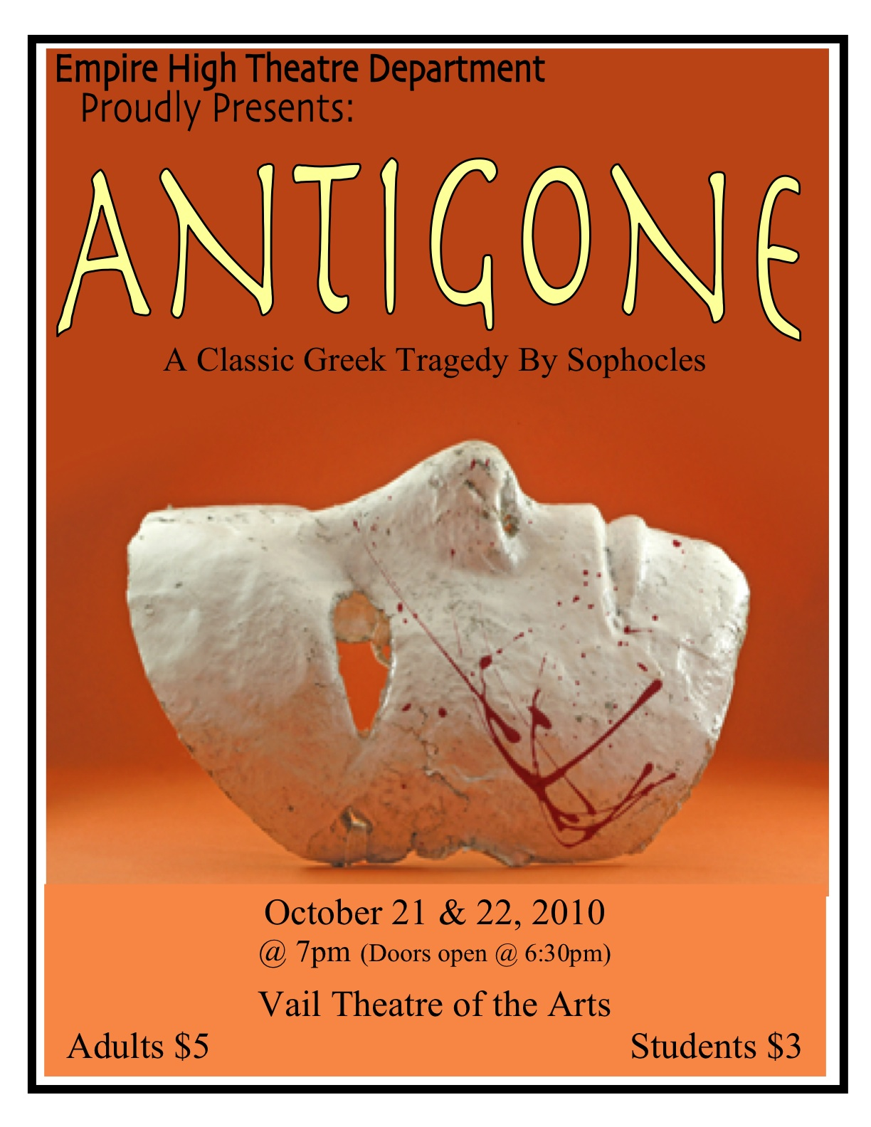 classical theatre evaluation antigone The classic greek tragedy gets a makeover, but its female lead disappoints theatre review by aleks sierz.